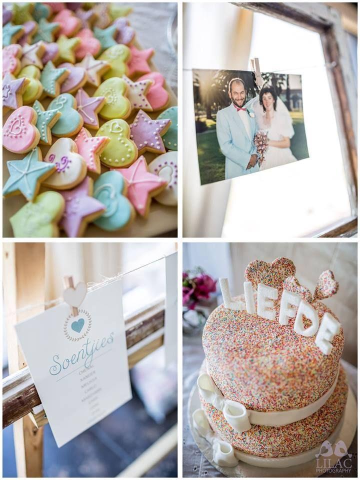 Vintage Pastel colour wedding