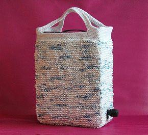 """GREITZAN: Sticka en """"Bag-in-box-väska"""" av plastkassar"""