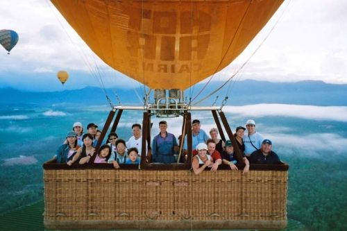 Hot Air Balloon Cairns Did you know that Cairns and Tropical North Queensland is one of the best places in the world to go ballooning?  #hotairbaloon