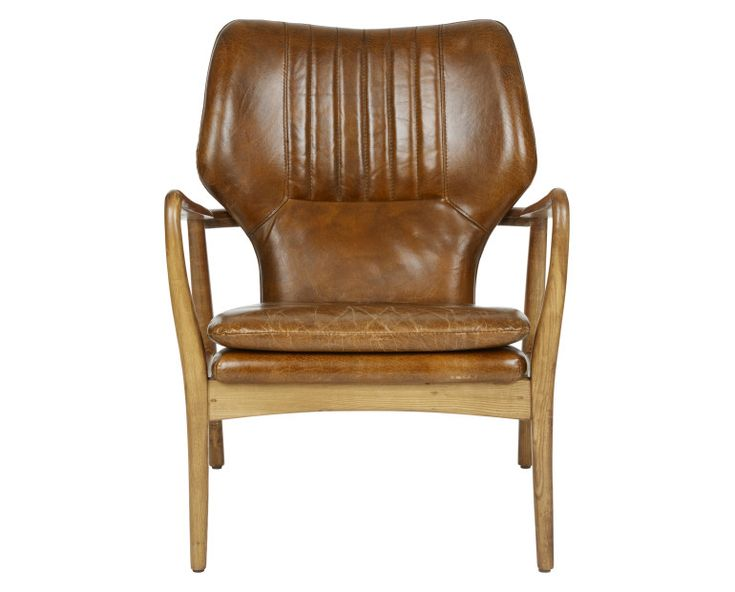 Laura Ashley Whitworth Leather Chair #TimelessCountry #interiors 💠💠More Pins Like This At FOSTERGINGER @ Pinterest💠