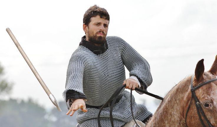 Giochi medievali: il lancio del giavellotto.