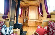 Burscough 57 Cruiser Stern for sale UK, Burscough boats for sale, Burscough used boat sales, Burscough Narrow Boats For Sale 57' Cruiser Stern in Reverse Layout - REDUCED - Apollo Duck