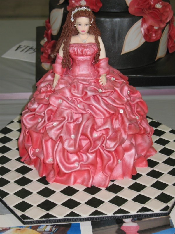 Barbie Fondant Cake Images : 17 Best images about Cakes: Barbie/Doll on Pinterest ...