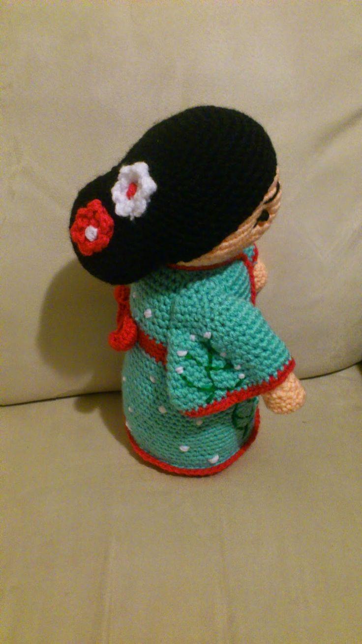 Amigurumi Geisha - FREE Crochet Pattern / Tutorial