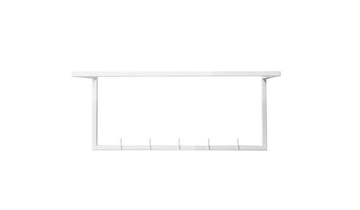 monoqi 26x60cm wand garderobe wei flur pinterest. Black Bedroom Furniture Sets. Home Design Ideas