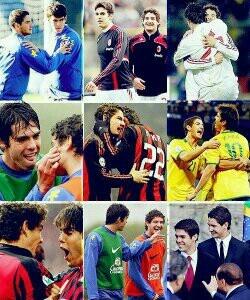 Ricardo Kaká & Alexandre Pato <3