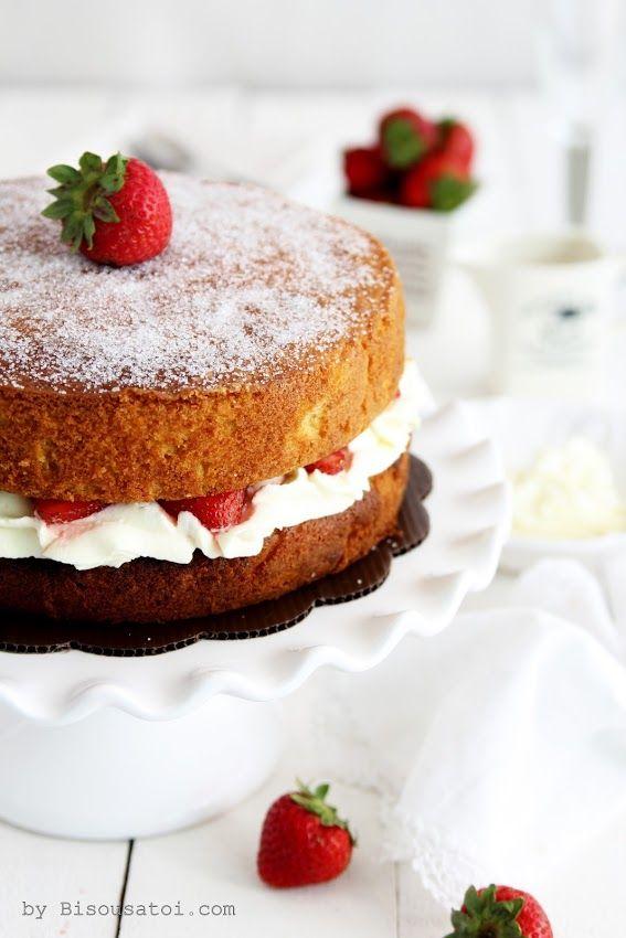 Bisous À Toi: The Classic Victoria Sandwich Cake