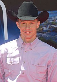 Ty Monroe Murray is a nine-time World Champion rodeo cowboy and co-founder and board adviser of the Professional Bull Riders.  Born: October 11, 1969 (age 43), Glendale, AZ