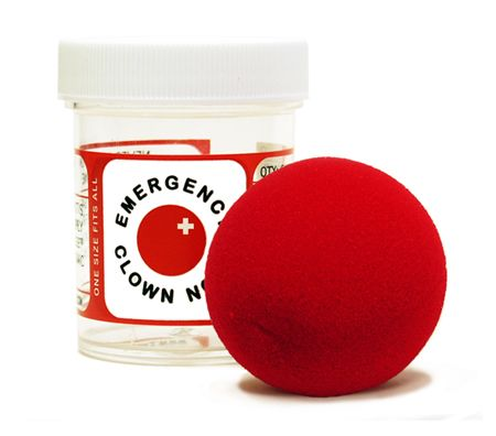 Emergency Clown Nose - $5.99  // because you never know when you're gonna need it