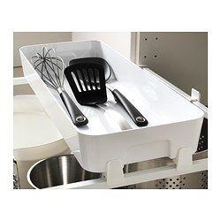IKEA - VARIERA, Box, Erleichtert Übersicht und Zugriff auf Lebensmittel und anderes in Schubladen.Abgerundete Kanten erleichtern das Reinigen.