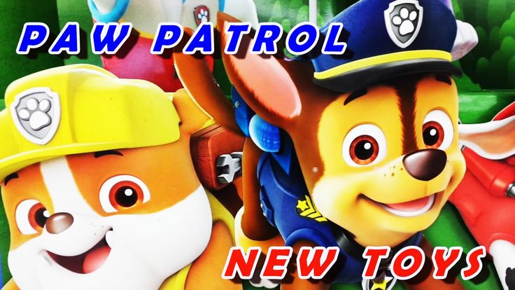 """PAW PATROL NEW TOYS Rubble goes TOYS """"R"""" US Shopping!! New Paw Patrol To..."""