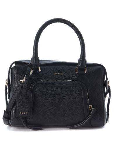 DKNY Borsa A Mano Dkny Chelsea Vintage In Pelle Nera. #dkny #bags # #