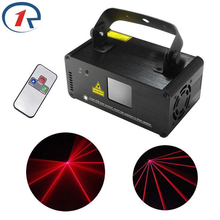 ZjRight IR Remote 200mw RED Laser Stage Light Effect DMX 512 Stage Light Laser Projector Disco light Party Bar KTV dj Lights #Affiliate