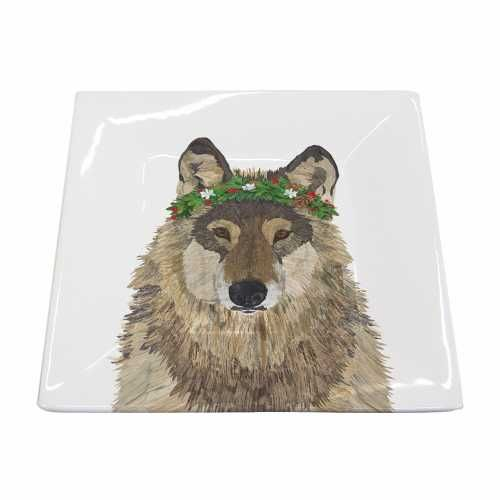 Our #Wolf #Squareplate #Wolfplate A % of sales go to #Autism Organizations