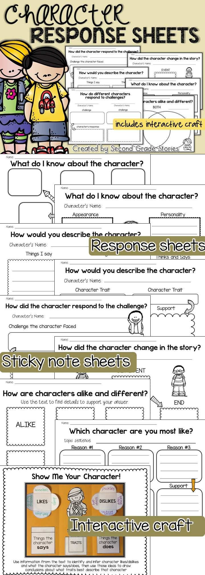 150 best Character traits images on Pinterest | Reading, Character changes  and School
