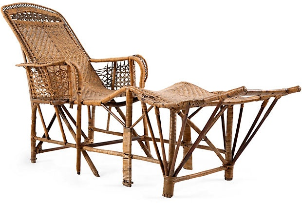 17 best images about outside on pinterest weather vanes for Antique wicker chaise