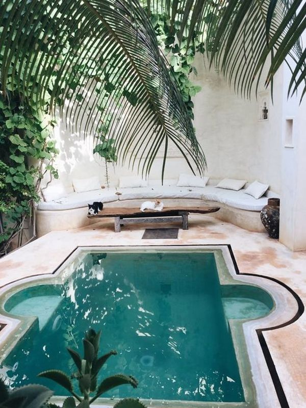 42 Comfy Pool Seating Ideas You Ll Love Dream Pool Indoor Pool Houses Dream Pools
