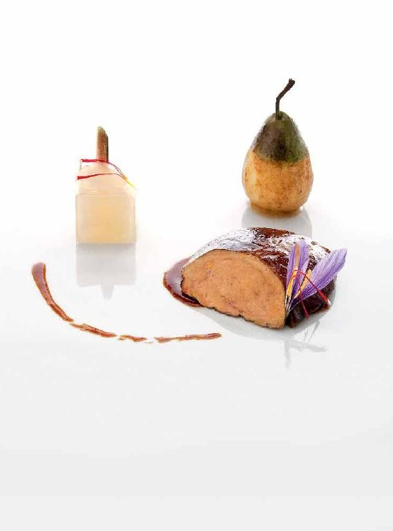 Foie gras caramélisé au safran