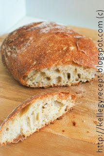 Mandy kertje és konyhája: Dagasztás nélküli kenyér - DNK