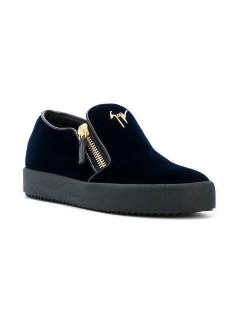 357c823950bbe Giuseppe Zanotti Design Eve laceless sneakers | Обувь | Giuseppe ...