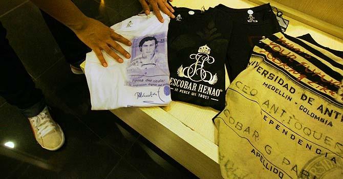 Pablo Escobar T Shirt http:/www.beautips.it/pablo-escobar-da-trafficante-a-logo-di-una-t-shirt/