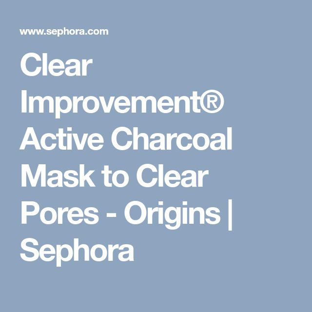 Clear Improvement® Active Charcoal Mask to Clear Pores - Origins | Sephora