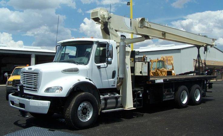 2007 Freightliner Crane Truck For Sale In Phoenix - - C13 Cat, 13 Spd Man Trans, AC , 60,000lb GVWR, National 800D Crane, 100 ft Plus 44ft Jib .... $96,900 ... (602) 510-5444 ... Apache Junction, Az (PHX),... www.HDTrucksAndEquipmentSales.com