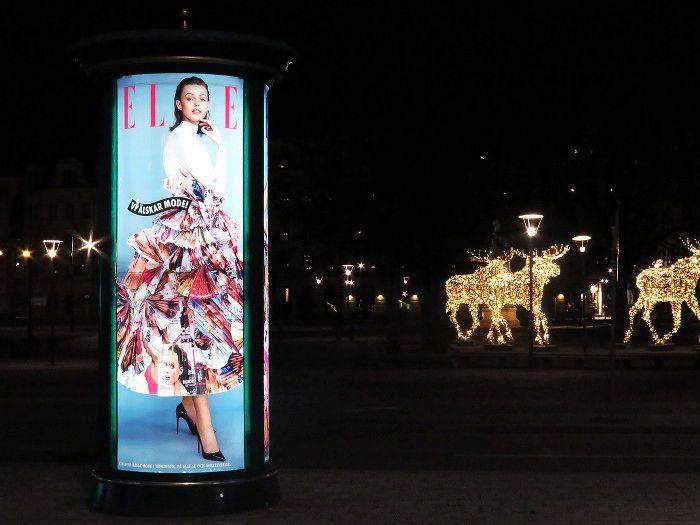 Frida Gustavsson for ELLE/JCDeacaux