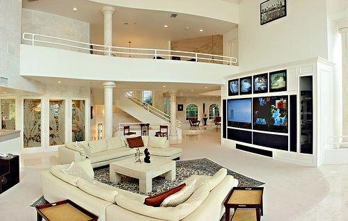 Big Living Rooms Beauteous Design Decoration