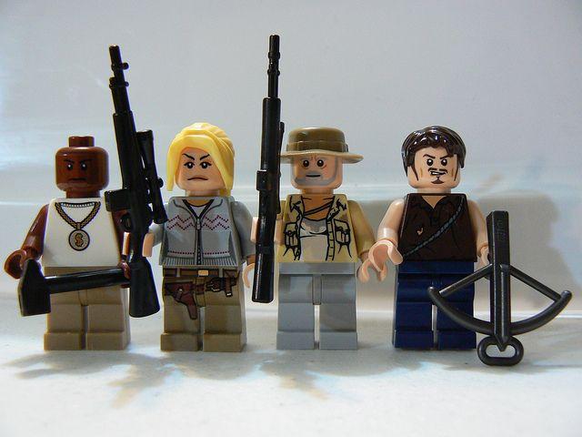 The Walking Dead: T-Dog, Andrea,... LIKE, SHARE - REPIN!