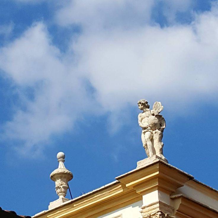 Angels & blue skies.  #spring