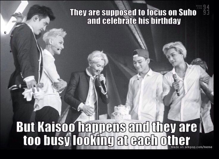 Oh poor Suho.. But damn that eye contact.. #Kaisoo
