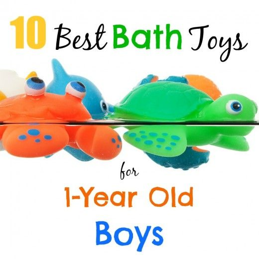 10 Best Bath Toys for 1-Year Old Boys - this is the perfect age to get your little guy excited about the bath and there are so many fun toys that they will love! Click through to check out the big winners in our house.