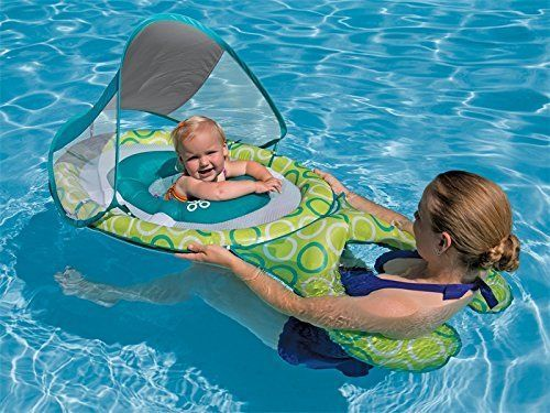 Summer Mommy Baby Water Sport Spring Float Canopy Raft Swim Pool Outdoor Safety  #SwimWays