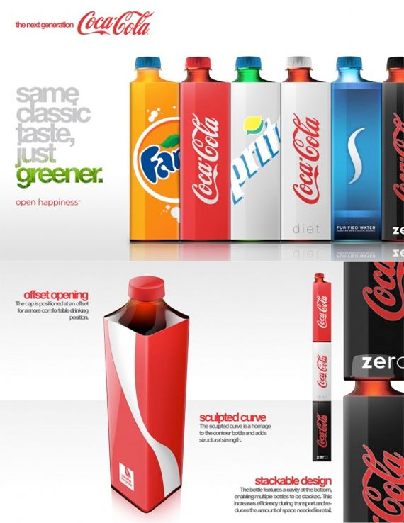 Here are some of the most creative and environment friendly packaging design that I have found. It's time to go green!