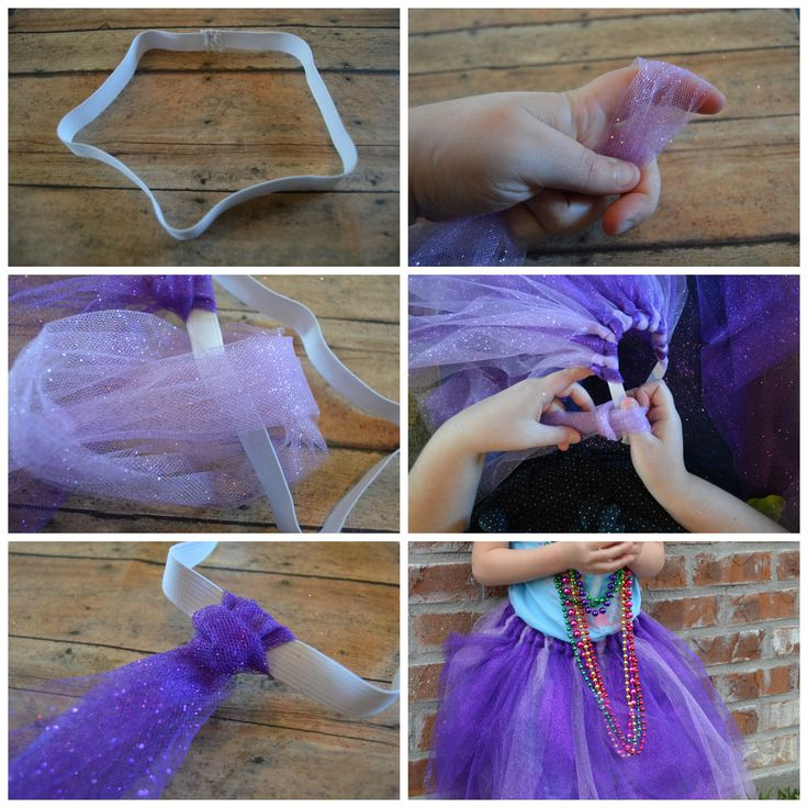 easy DIY tutu; how to make a tutu | mybigfathappylife.com