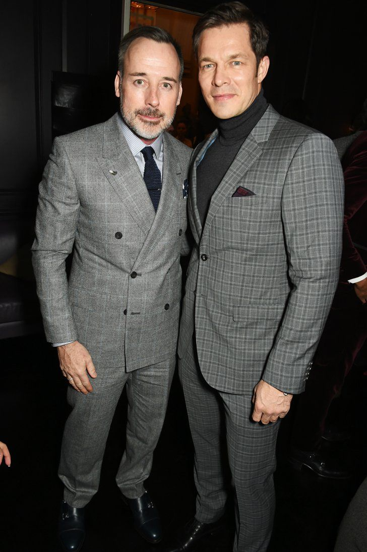 Pin for Later: From Brooklyn Beckham to Henry Cavill: Stars at the London Menswear Shows David Furnish and Paul Sculfor At a private dinner hosted by Dylan Jones and Tommy Hilfiger.