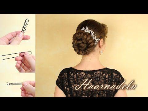Haarnadeln - was verwende ich um meine Haare hochzustecken ...