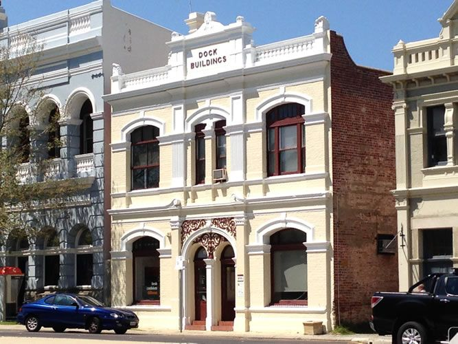 Dock Buildings, Fremantle, Western Australia