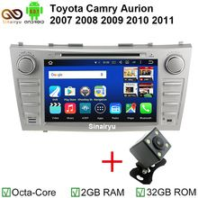 US $359.99 HD 1024*600 4G LTE Octa Core 2GB RAM 32GB ROM Android 6.0.1 Car DVD Radio GPS BT Player for Toyota Aurion Camry 2007 - 2011. Aliexpress product