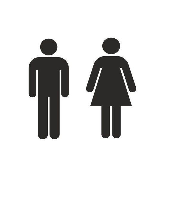 Men Women Restroom Vinyl Decal Sticker Sign Mens Womens Etsy In 2021 Vinyl Decal Stickers Bathroom Stickers Sticker Sign