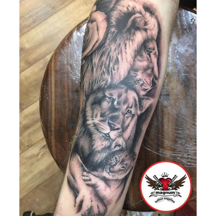 Dope piece done my Mike Davies with #magnumtattoosupplies