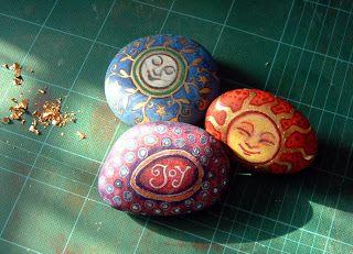 Craft Fetish: Painted Pebbles Update