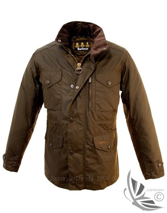 Barbour Men's Sapper Jacket - Olive MWX0020OL71 (A342)  Oh! I have a jacket))