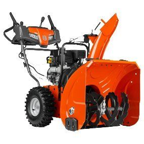 Electric Start Snow Blower Husqvarna ST224 24-Inch 208cc Two Stage