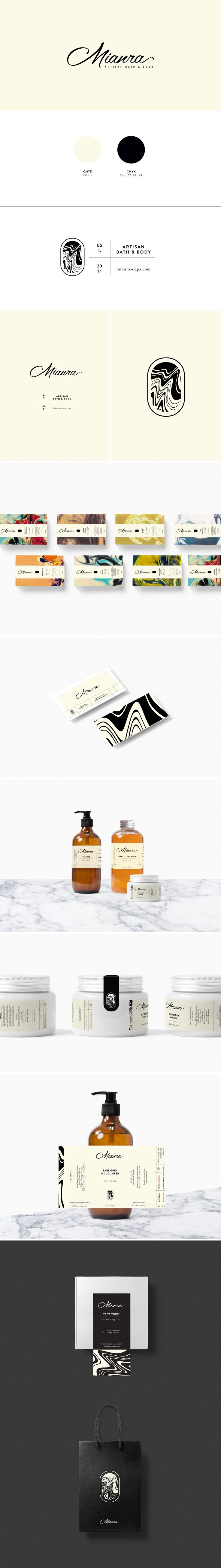 Mianra Brand Identity by Cocorrina