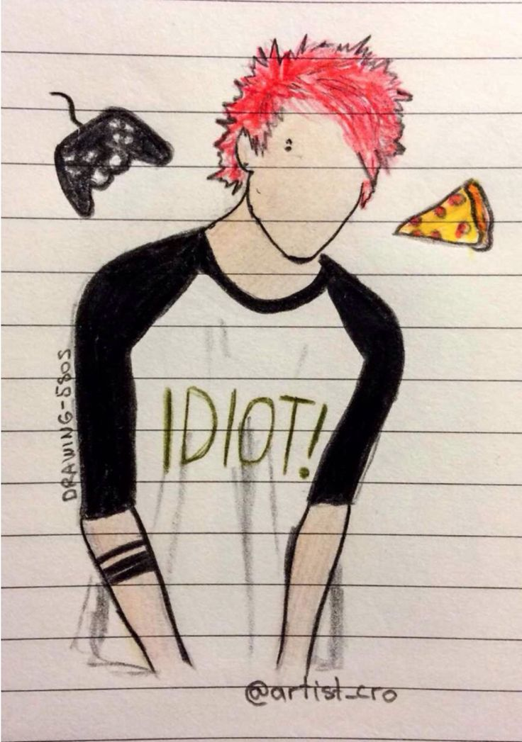 5sos drawing