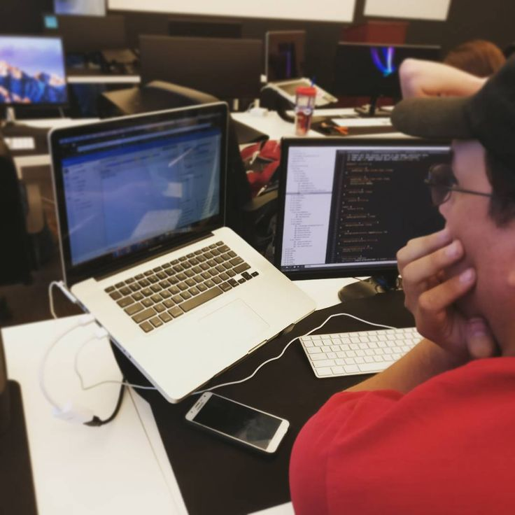 Trevor, one of our senior student working on his final project. Graduation for this cohort is this coming Friday. We cannot wait to see what Trevor and the rest of the cohort accomplishes in the future. #classroom #dev #devcamp #development #coding #ruby #vim #ror #rubyonrails #buildtheweb #devlife #learntocode #financing #teamwork #lehi #utah #teaching #teamwork #bottega #softwaredeveloper #bootcamp #work #css #javascript #jquery #computerscience