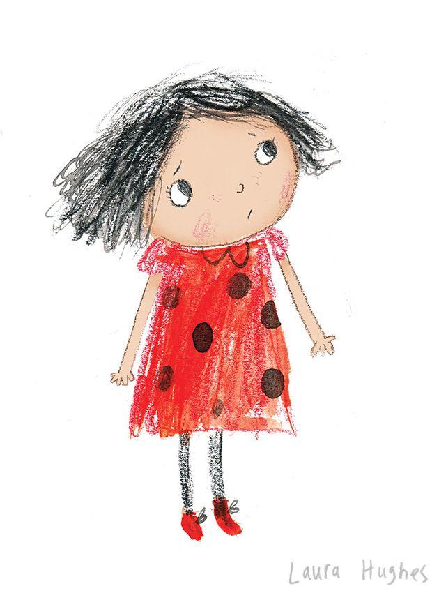 not happy Laura Hughes - Illustration