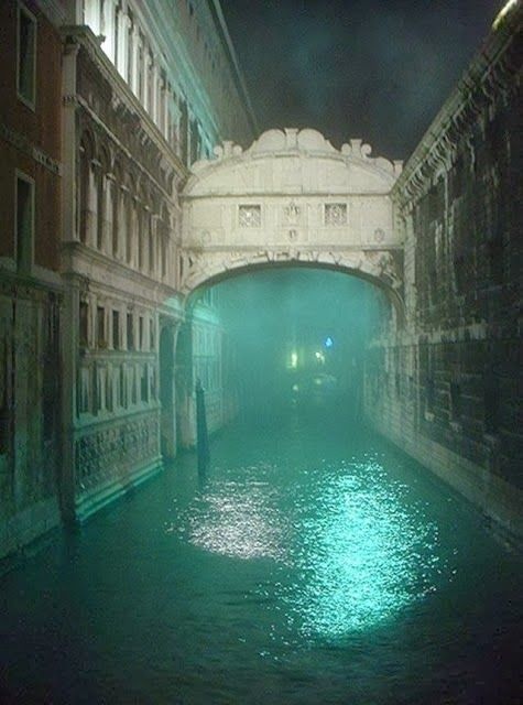 Bridge of Sighs Venice, Italy. V moody almost sad photo - which of course for the prisoners crossing it, it was! (Their last glimpse of the outside world)